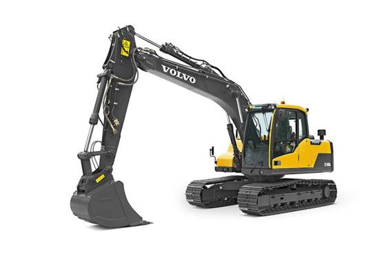 沃尔沃EC120D履带式挖掘机高清图 - 外观
