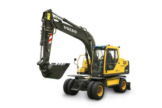 沃尔沃EW145B PRIME轮式挖掘机
