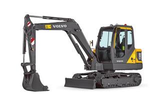 沃尔沃EC60D小型挖掘机高清图 - 外观