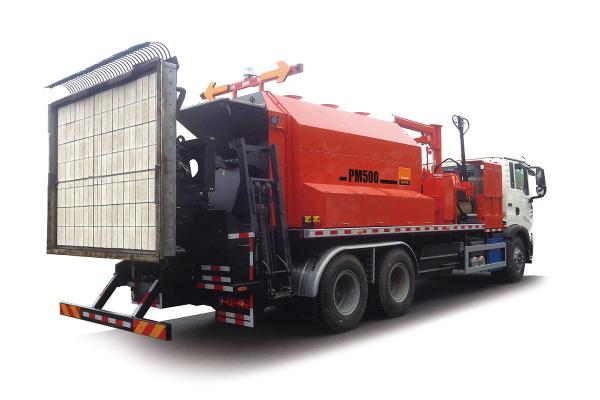 英达PM500热再生养护车