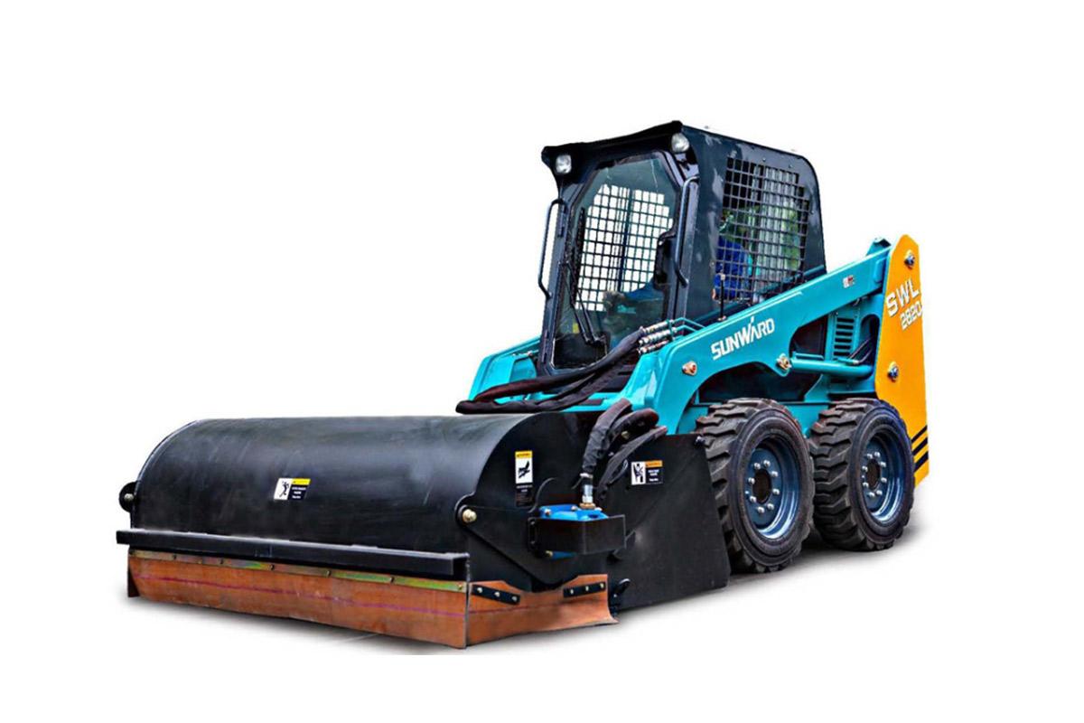 山河智能SWL2830轮式滑移装载机高清图 - 外观