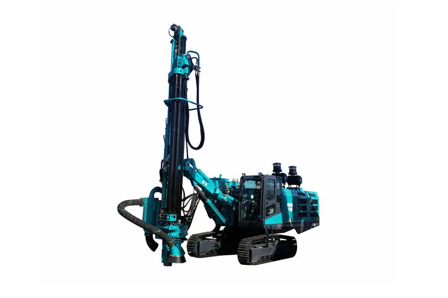 山河智能SWDE120B-3一体化潜孔钻机