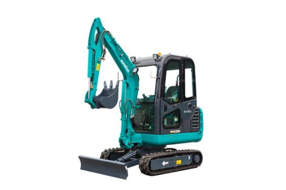 山河智能SWE20F微型挖掘机