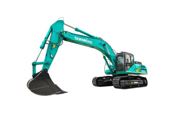 山河智能SWE365E-3大型挖掘机