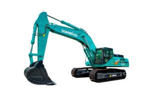 山河智能SWE500ES大型挖掘机