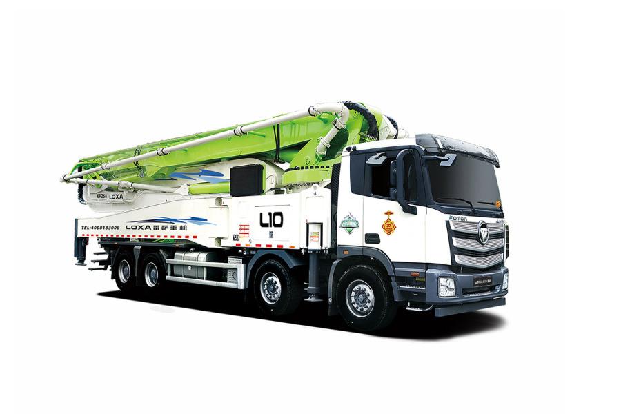 雷萨重机BJ5449THB-XD(L10-56米)泵车
