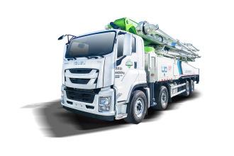 雷萨重机BJ5440THB-XF(L10-58米)泵车高清图 - 外观