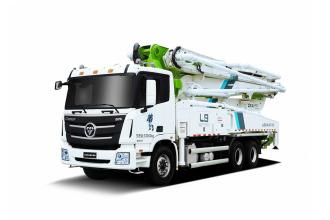 雷萨重机BJ5289THB-XD(L9-38米)泵车高清图 - 外观