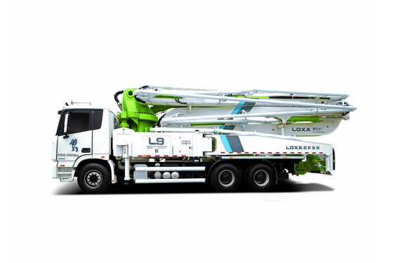 雷萨重机BJ5339THB-XD(L9-47米)泵车高清图 - 外观