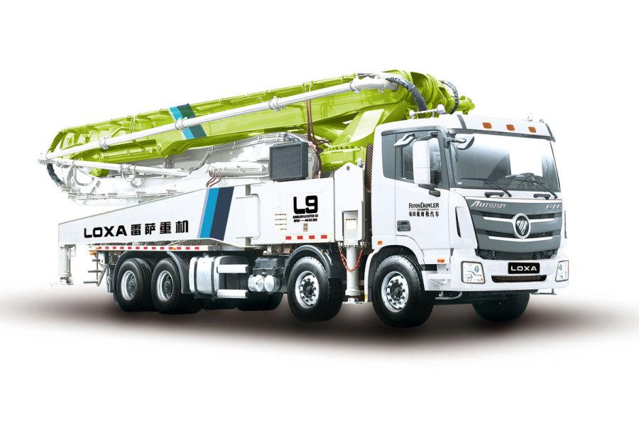 雷萨重机BJ5449THB-XD(L9-58米)泵车