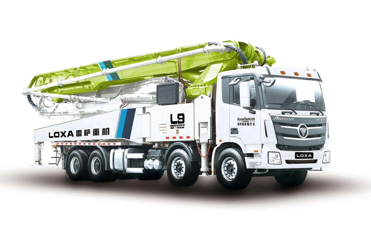 雷萨重机BJ5449THB-XF(L9 61米)泵车高清图 - 外观