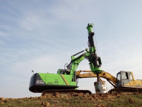 泰信机械KR50A旋挖钻机高清图 - 外观