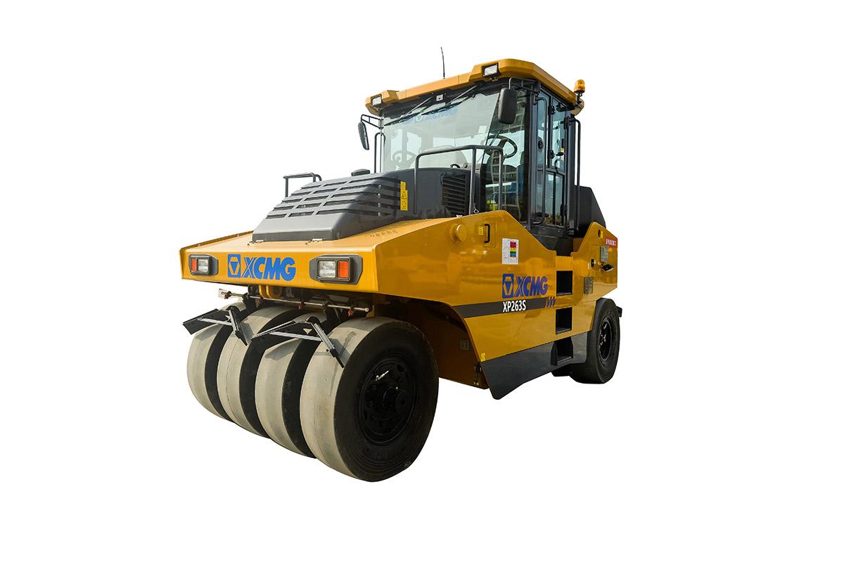 徐工XP263S轮胎压路机高清图 - 外观