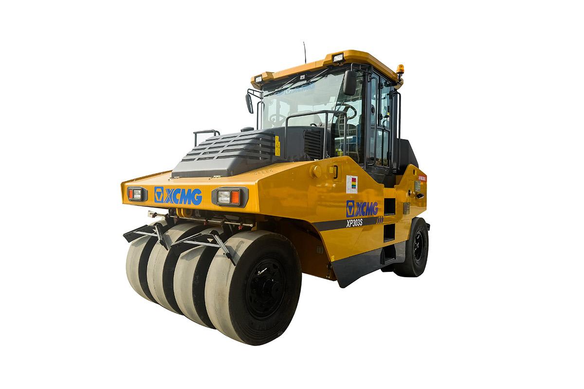 徐工XP303S轮胎压路机高清图 - 外观