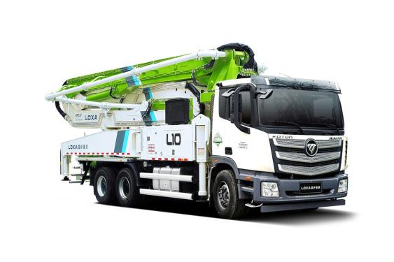 雷薩重機BJ5339THB-XD(L10-52米)泵車