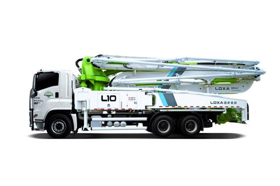 雷萨重机BJ5350THB-XF(L10-50米)泵车高清图 - 外观