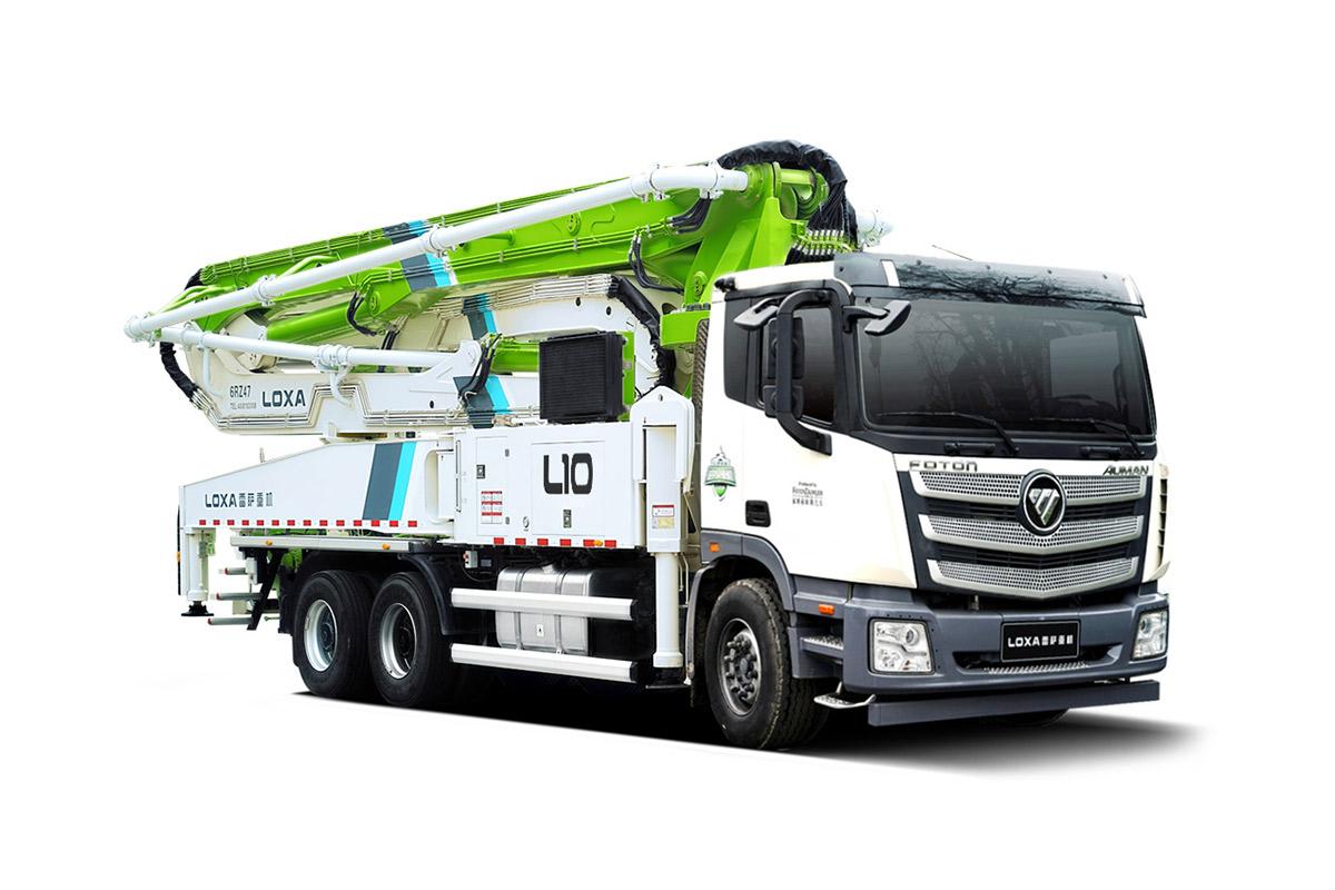 雷萨重机BJ5358THB-XF(L10-52米)泵车高清图 - 外观