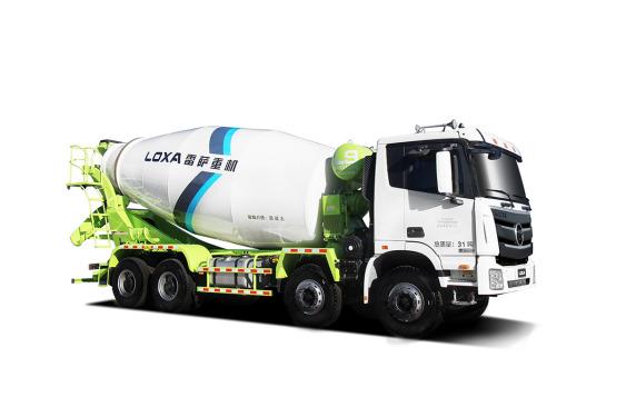 雷萨重机BJ5319GJB-6D(TL408(LNG)搅拌运输车
