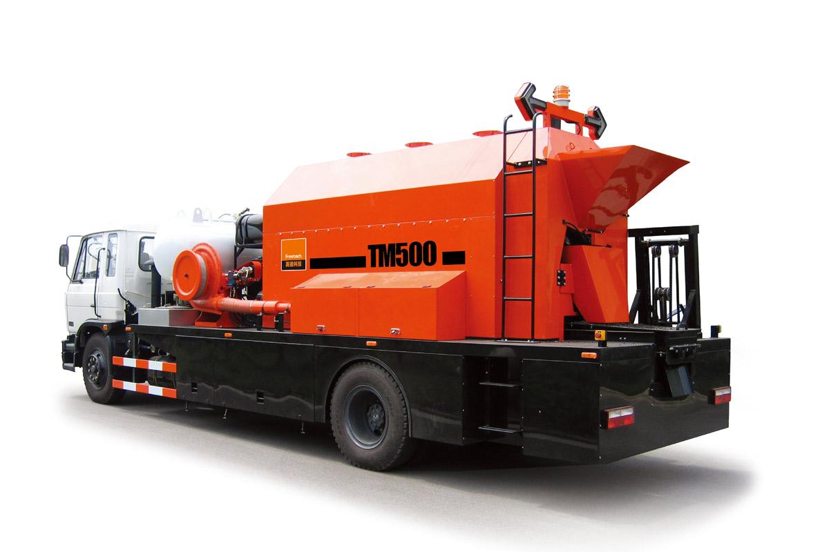 英达TM500综合养护车高清图 - 外观