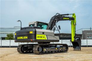 中联重科ZE135E-10履带式液压挖掘机