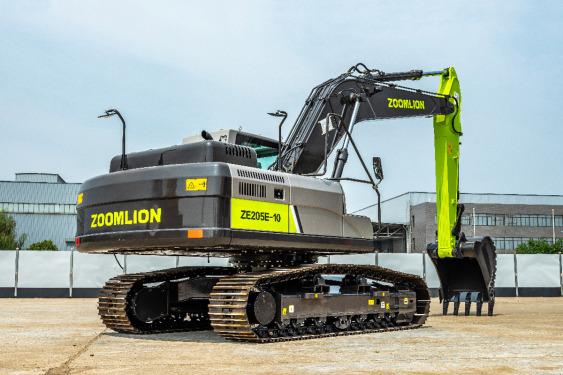 中联重科ZE205E-10履带式液压挖掘机高清图 - 外观