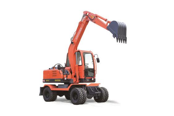 新源重工XY65W-8轮胎压路机