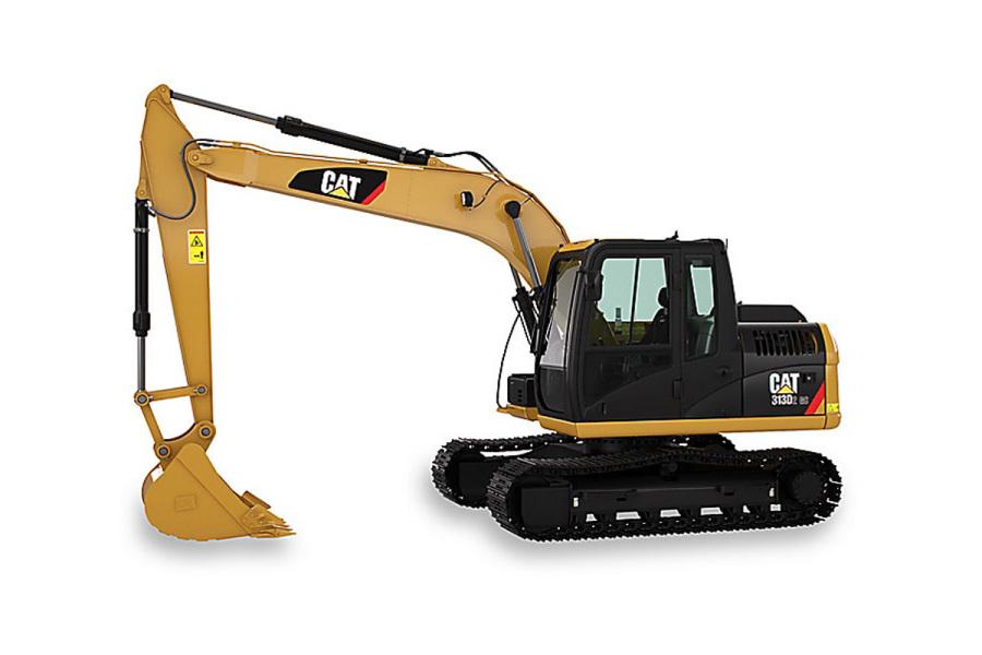 卡特彼勒新一代CAT®313D2 GC液压挖掘机