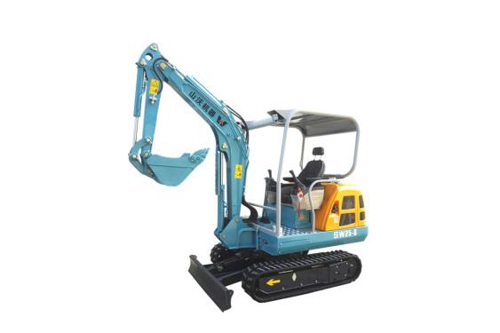 山沃机器SW25-8微型挖掘机/果园小型挖机