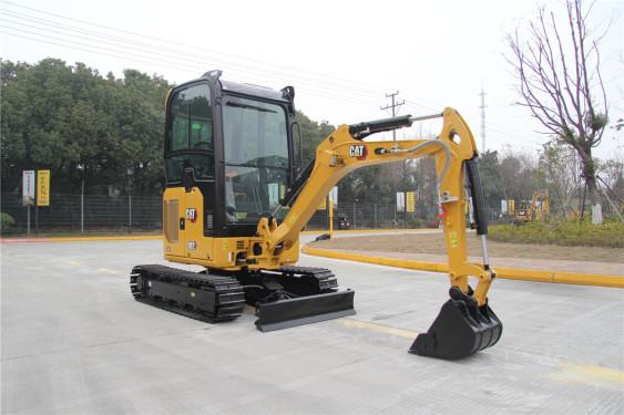 卡特彼勒新一代Cat®302CR迷你型挖掘机高清图 - 外观