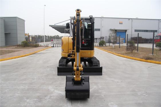 卡特彼勒303.5E CR小型液压挖掘机高清图 - 外观