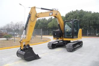 卡特彼勒新一代Cat®308.5迷你型液压挖掘机高清图 - 外观