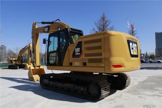 卡特彼勒新一代Cat®320 GC液压挖掘机高清图 - 外观