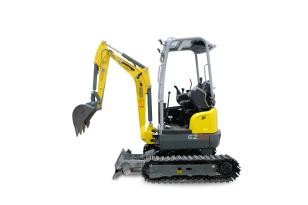 威克诺森EZ20无尾回转微型挖掘机