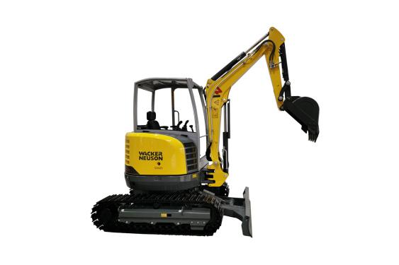 威克诺森EZ26无尾回转微型挖掘机