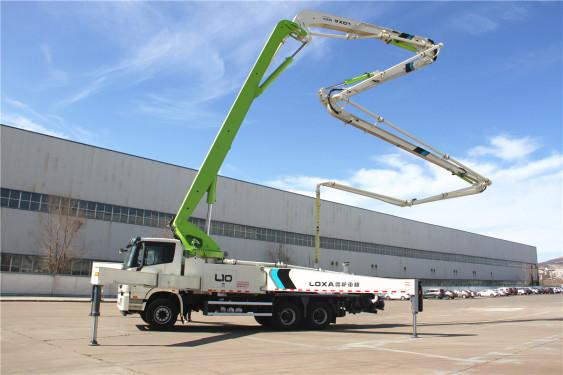 雷萨重机BJ5359THB-XF(L10-50米)泵车高清图 - 外观