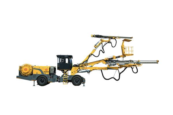 新筑智装XZZY219两臂凿岩台车