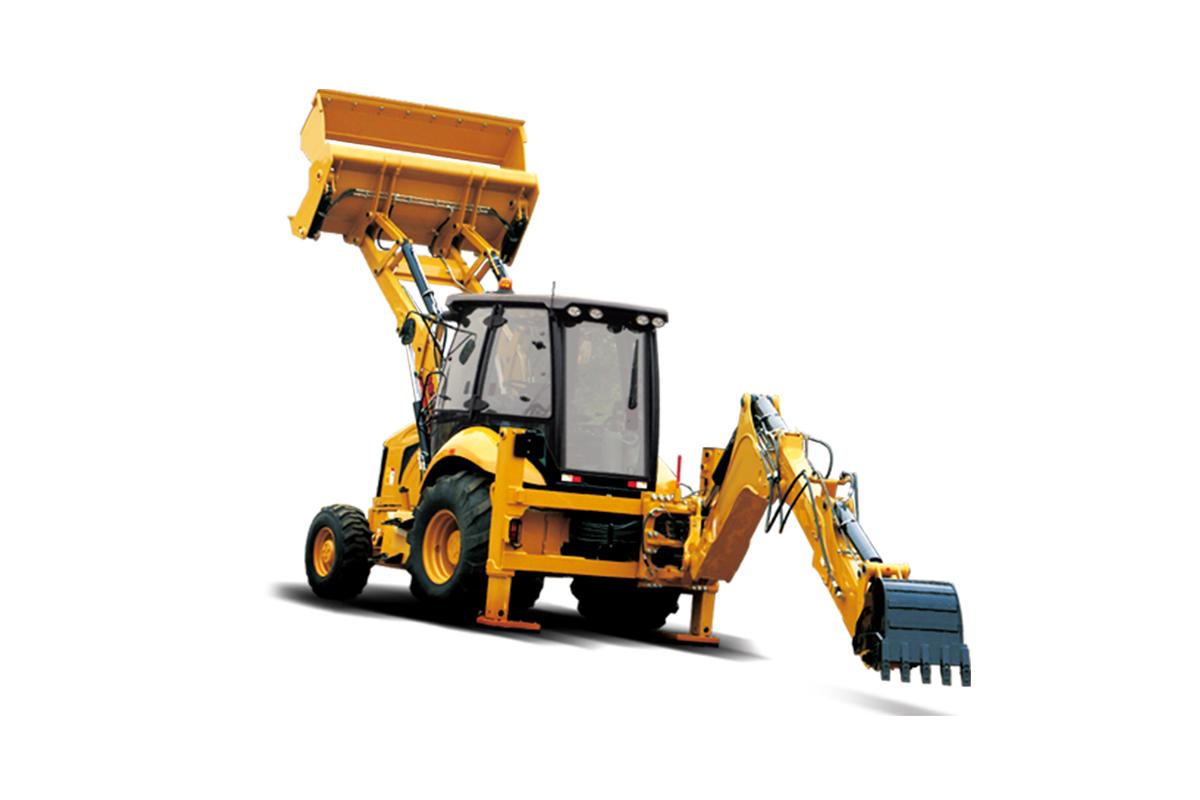 成工重工862H挖掘装载机高清图 - 外观