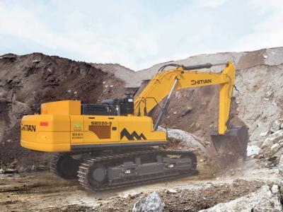 【720°全景展示】十田520-9挖掘机