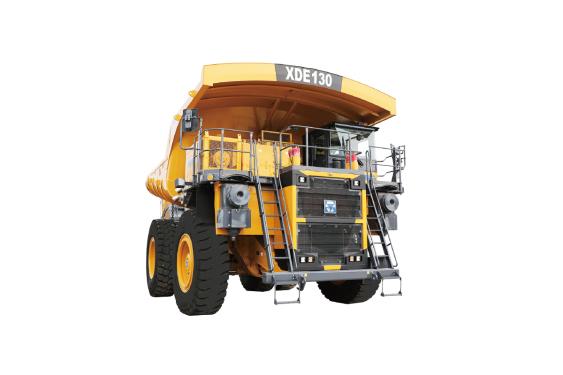 徐工XDE130电传动自卸车