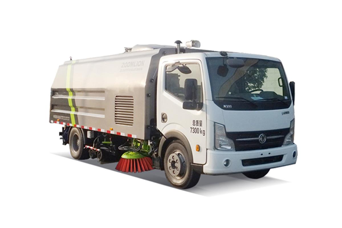 中联重科ZLJ5070TXSEQE5洗扫车高清图 - 外观