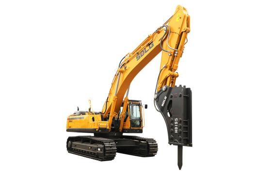 山东临工E6500F打锤王大型液压挖掘机