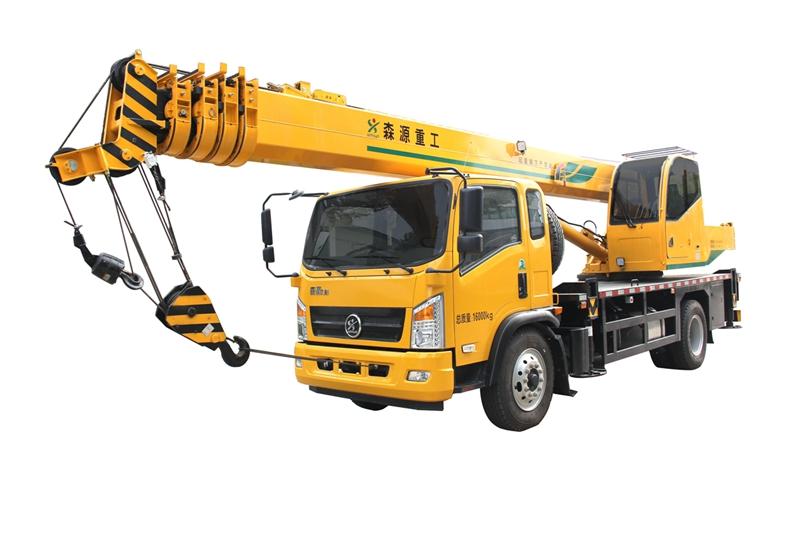 森源重工10吨汽车起重机  森源SMQ5152JQZ高清图 - 外观