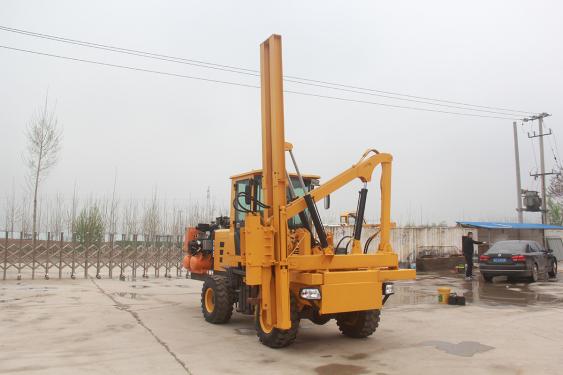 宜迅YX-940(5m³)护栏打桩机高清图 - 外观