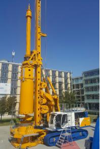 德国宝峨BG 33 H多功能型旋挖钻机 (BT 85 主机)高清图 - 外观