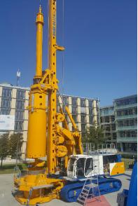 德国宝峨BG 33 H多功能型旋挖钻机 (BT 85 主机)