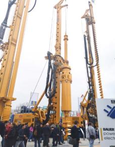 德国宝峨BG 33多功能型旋挖钻机 (BT 85 主机)高清图 - 外观