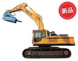 山东临工EB600F打锤王挖掘机