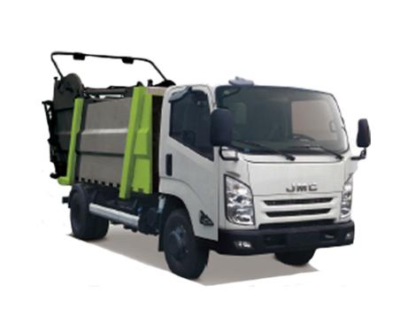 中联重科ZBH5082ZYSJXE6压缩式垃圾车(湿垃圾)