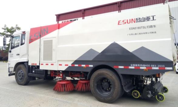 易山重工ESN55180TSL18吨扫路车_路面清扫车_厂家出租