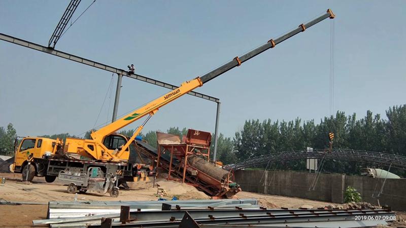 吊车施工案例-4